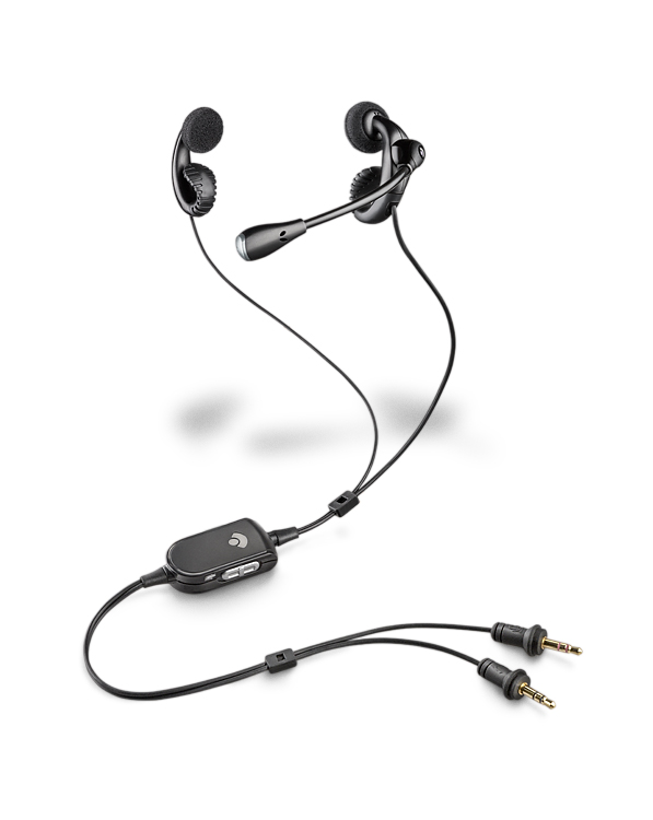 .Audio 450 Plantronics Analog PC headset