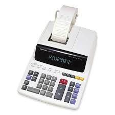 EL-2607RIII Sharp Desktop Calculator